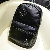 Рюкзак молодежный с заклепками, фото 1