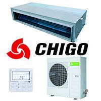 Канальный кондиционер Chigo CTB-18HR1/COU-18HR1