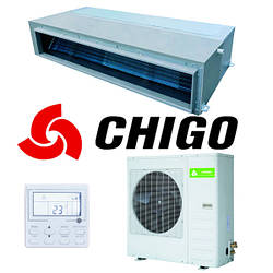 Канальный кондиционер Chigo CTB-18HR1/COU-18HR1 LAK