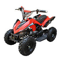 Квадроцикл детский Profi HB-6 EATV800B-3, 800W, 30км.ч.,металл,красный