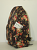Рюкзак городской в розах для девушки, фото 2