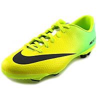 Футбольные бутсы Nike Mercurial Veloce FG 555632-703 JR