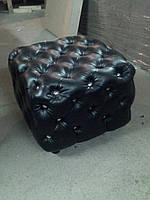 Пуфик Честер с металлическими пуговицами