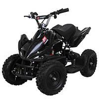 Квадроцикл детский Profi HB-6 EATV800B-2, 800W, 30км.ч.,металл,черный