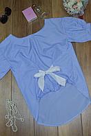 Женская блуза бант Italy, фото 1