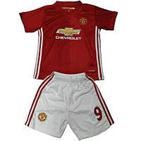 Детская футбольная форма ФК Манчестер Юнайтед Ibrahimovich №9 6835 122 см
