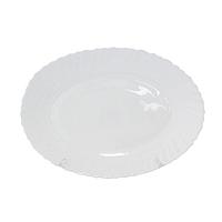 Блюдо овальное 25,4 см Белое SNT 30066-01-00