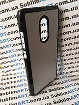Чехол для 2D сублимации пластиковый на Xiaomi Redmi Note 4 черный, фото 2