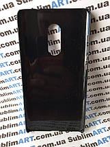 Чехол для 2D сублимации пластиковый на Xiaomi Redmi Note 4 черный, фото 3
