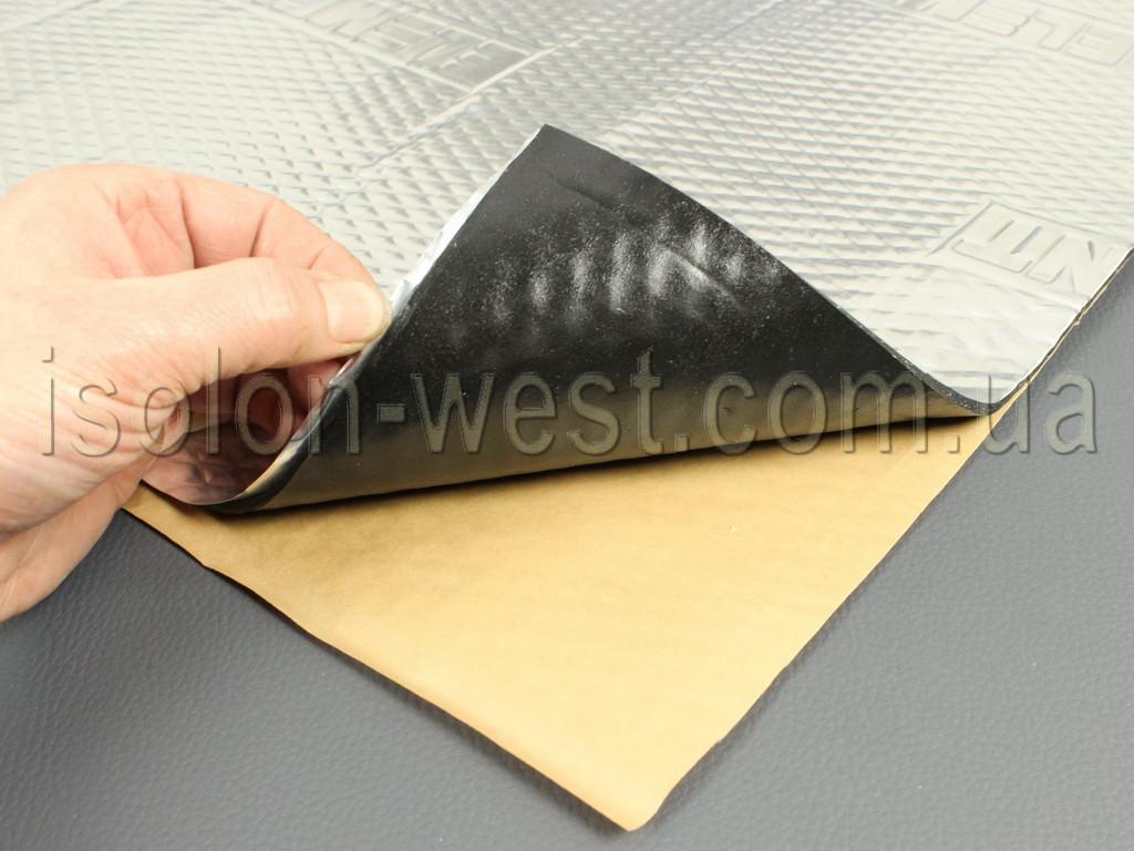 Виброизоляция Element IV, размер 50 х 70 см, толщина 4 мм.