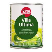 """Краска для деревянных наружны работ Villa Ultima """"вилла ультима"""", краска для деревянного фасада 0,9 л"""