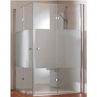 Душевые двери HUPPE 501 Design pure  140x200 стекло прозрачное (510891)
