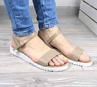Босоножки женские сандали Perfect беж,магазин обуви(40 размер _)