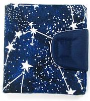 Завораживающий синий кошелек от TwinsStore cо звездами, К2