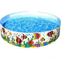 Бассейн детский каркасный Intex 56453 «Океанский риф»