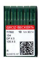 Иглы 134/DPX5/135X5 RS (SPI) Groz-Beckert 90 R