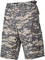 Полевые бермуды (S) американской армии, Rip Stop, цифровой камуфляж MFH 01512Q