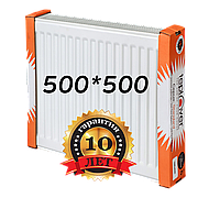 Teplover 500 на 500 тип 22 стальной радиатор боковое подключение