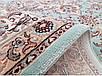 """Синтетический ковер """"Султан"""" Cardinal, цвет бирюзово-бежевый, фото 3"""