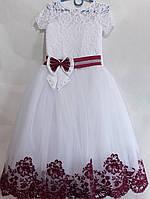 Платье нарядное для девочки 6-7, 8-10 лет