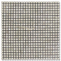 Мраморная мозаика МКР-1П (полированная) 10*10*6 Victoria Beige