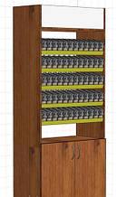 Шкаф сигаретный  Диспенсер для сигарет  ДСП древесного цвета