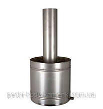 Бак для бани из нержавеющей стали 23 литра AISI 304 1мм