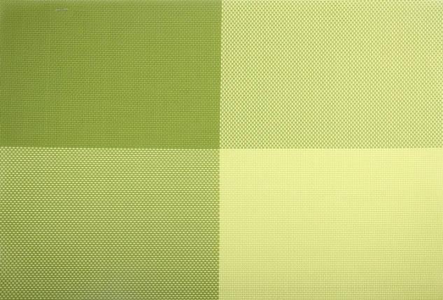"""Коврик сервировочный """"Квадраты"""" 30*45 см (зеленый), PDL, фото 2"""