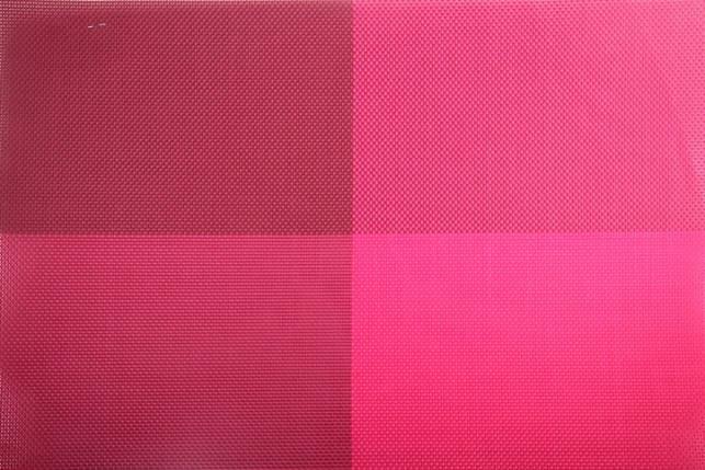 """Коврик сервировочный """"Квадраты"""" 30*45 см (розовый), PDL, фото 2"""