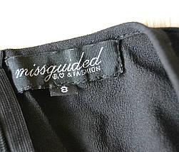 Шифоновое платье с вырезом спереди Missguided, фото 3