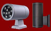 Фасадный светодиодный светильник 9W односторонний , фото 1