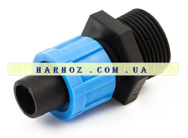 Соединение для ленты с наружной резьбой 3/4 Santehplast (Сантехпласт) SL-002 3/4