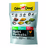 Лакомство GimDog Nutri Pockets Mix для собак мультивитамин, 150 г