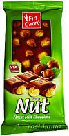 Шоколад FinCarre з цілим горіхом (12шт/ящ)