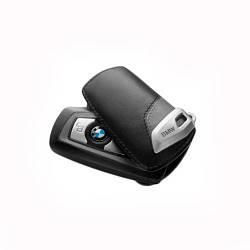 Оригинальный кожаный чехол для ключа BMW Key Holder Fob Leather Case Cover Urban Line Grey (82292219913)
