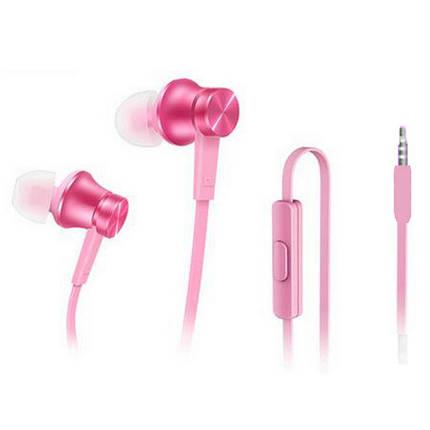 Наушники гарнитура Xiaomi HF Piston Fresh Bloom розовый, фото 2