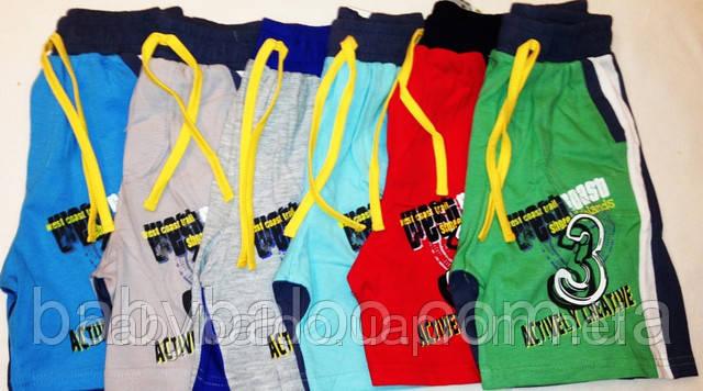 Летние шорты детские с вставкой (от 5 до 8 лет) , фото 2