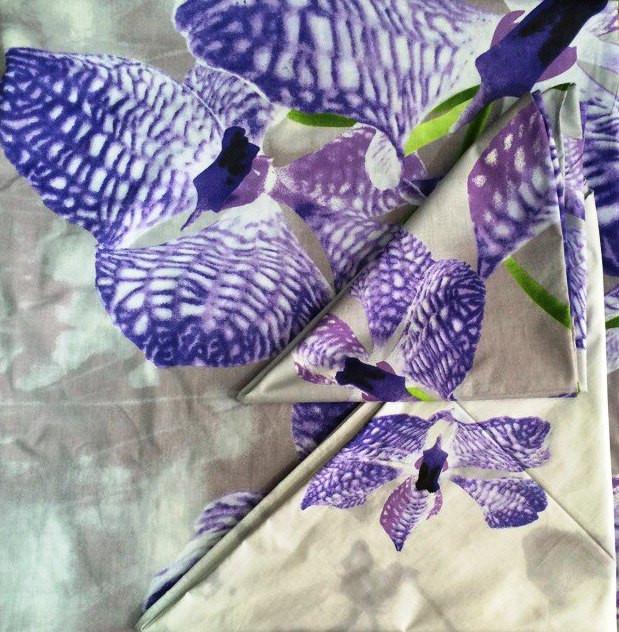 Наволочка 70х70 Орхидея