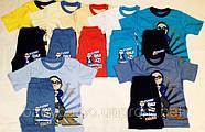 Костюм детский на мальчик  из футболки+шорт (рост от 92см до 110 см), фото 2
