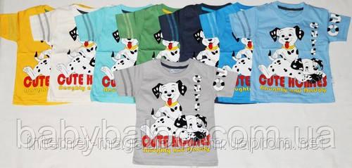 """Летняя футболка для мальчика """"Далматинец"""" (от 3 до 6 лет), фото 2"""