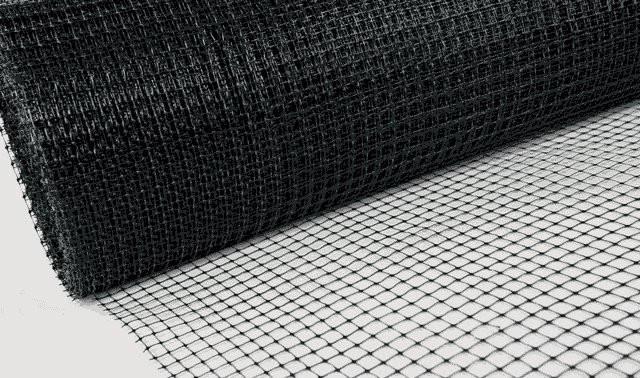 Сетка пластиковая Вольерная 2м*100м, яч.12*14мм/ вольерная сетка, фото 2