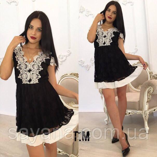 Женское красивое платье, 2 цвета. Ф-17-0317