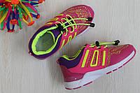 Кроссовки для девочки на резинке с утяжкой тм Tom.m р. 27,28,29,30,31,32