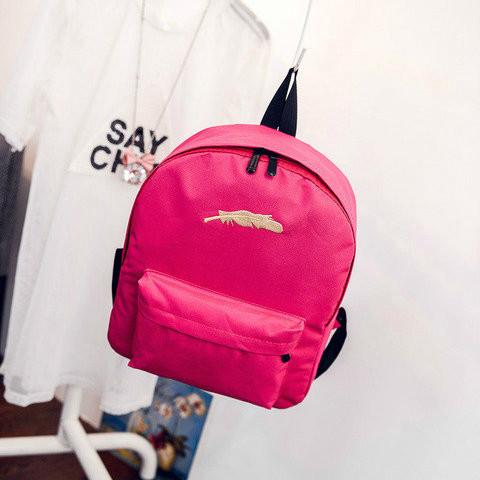 Модный рюкзак с принтом
