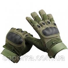 Перчатки тактические Oakley. Цвет олива