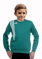 Джемпер тренировочный детский Adidas Sereno 11 (Зеленый) 152 см
