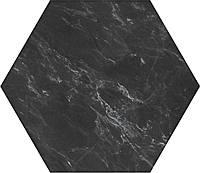 Плитка Атем для пола Atem Hexagon Miraclе BK 400 х 400 (Гексагон Миракл напольная черная)