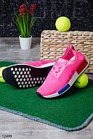 Женские кроссовки розовые текстиль идеальны для бега и спорта