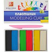 Пластилин Луч 6цветов (Россия) артикул 12с878-08