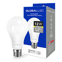 """Бытовые светодиодные лампы """"GLOBAL"""" с цоколем Е27"""